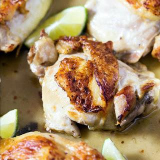 Coconut Lime Skillet Chicken