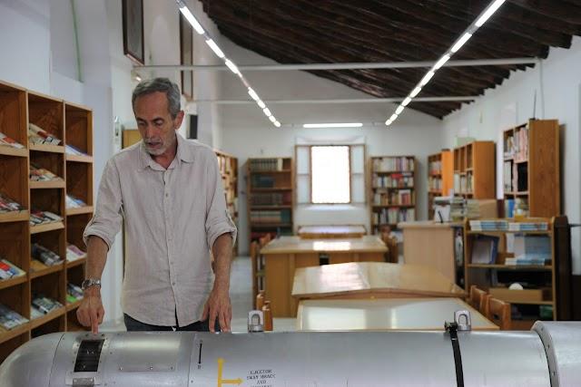 José Herrera, durante una de las entrevistas del documental (Foto: Movistar).