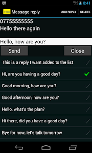 Messaging screenshot 2