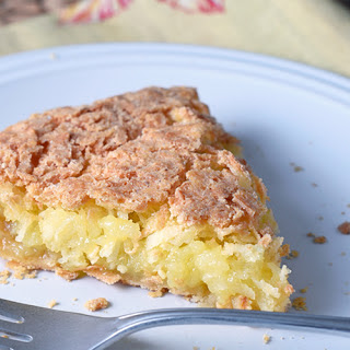 French Coconut Pie