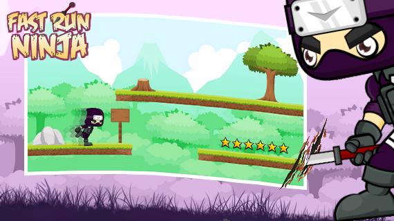 android Fast Run Ninja Screenshot 2