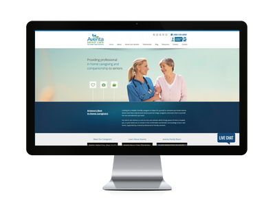 Website Refresh Senior Living