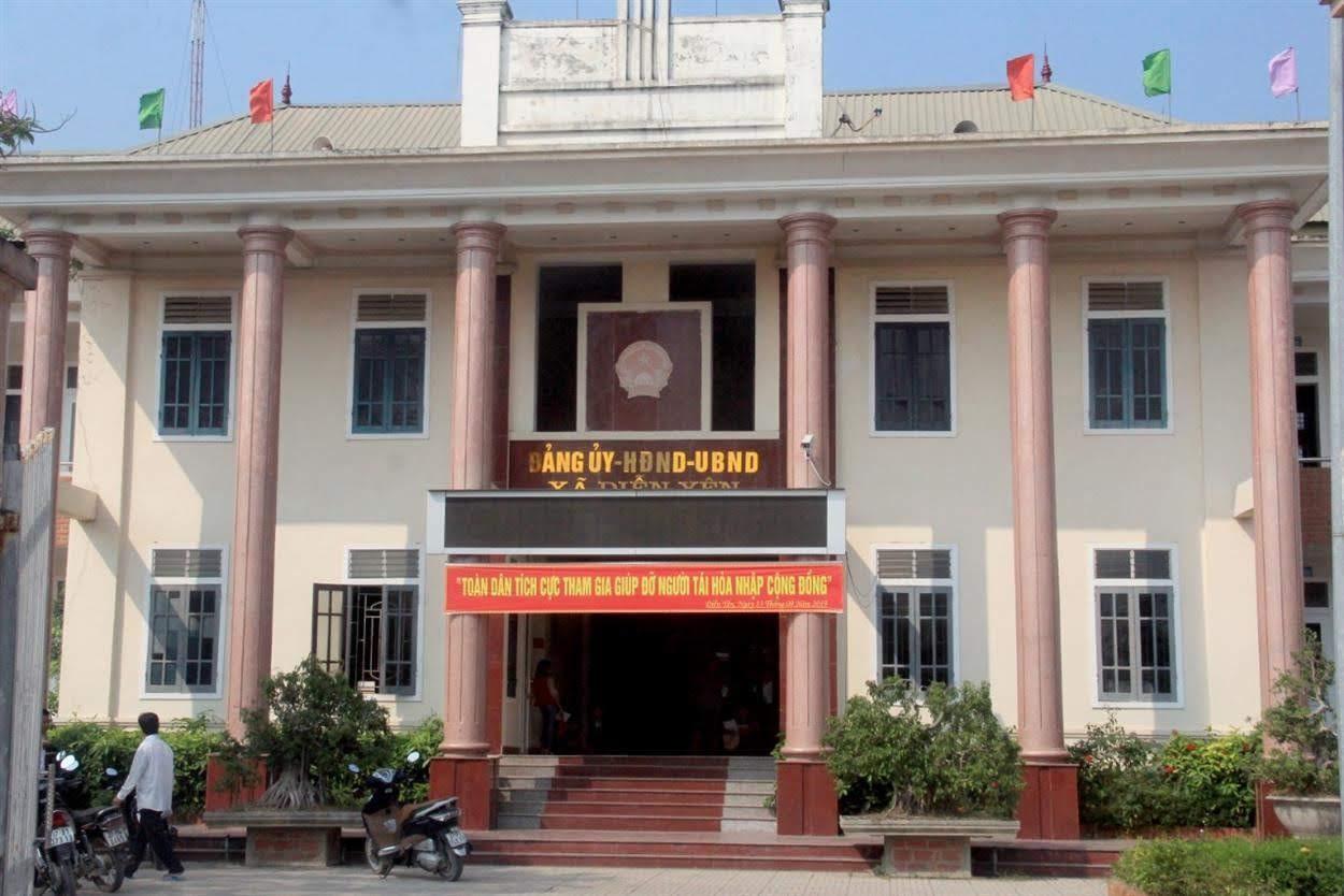 Trụ sở UBND xã Diễn Yên