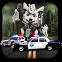 US Army War Robots Car Transform: Robot Games icon