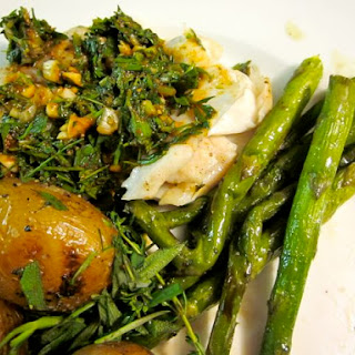 Grilled Pickerel with Charmoulah Recipe