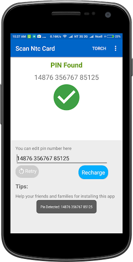 Recharge Card Scanner for NTC and Ncell Users screenshots 2