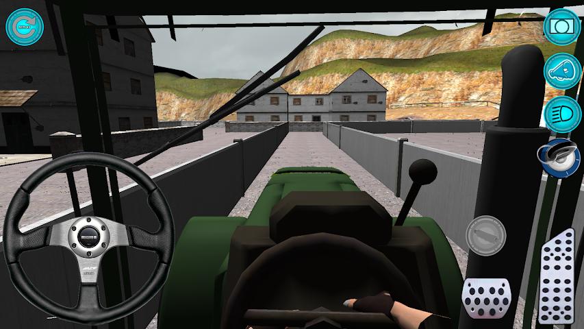 android Traktör: Simülatör 3D 2016 Screenshot 0