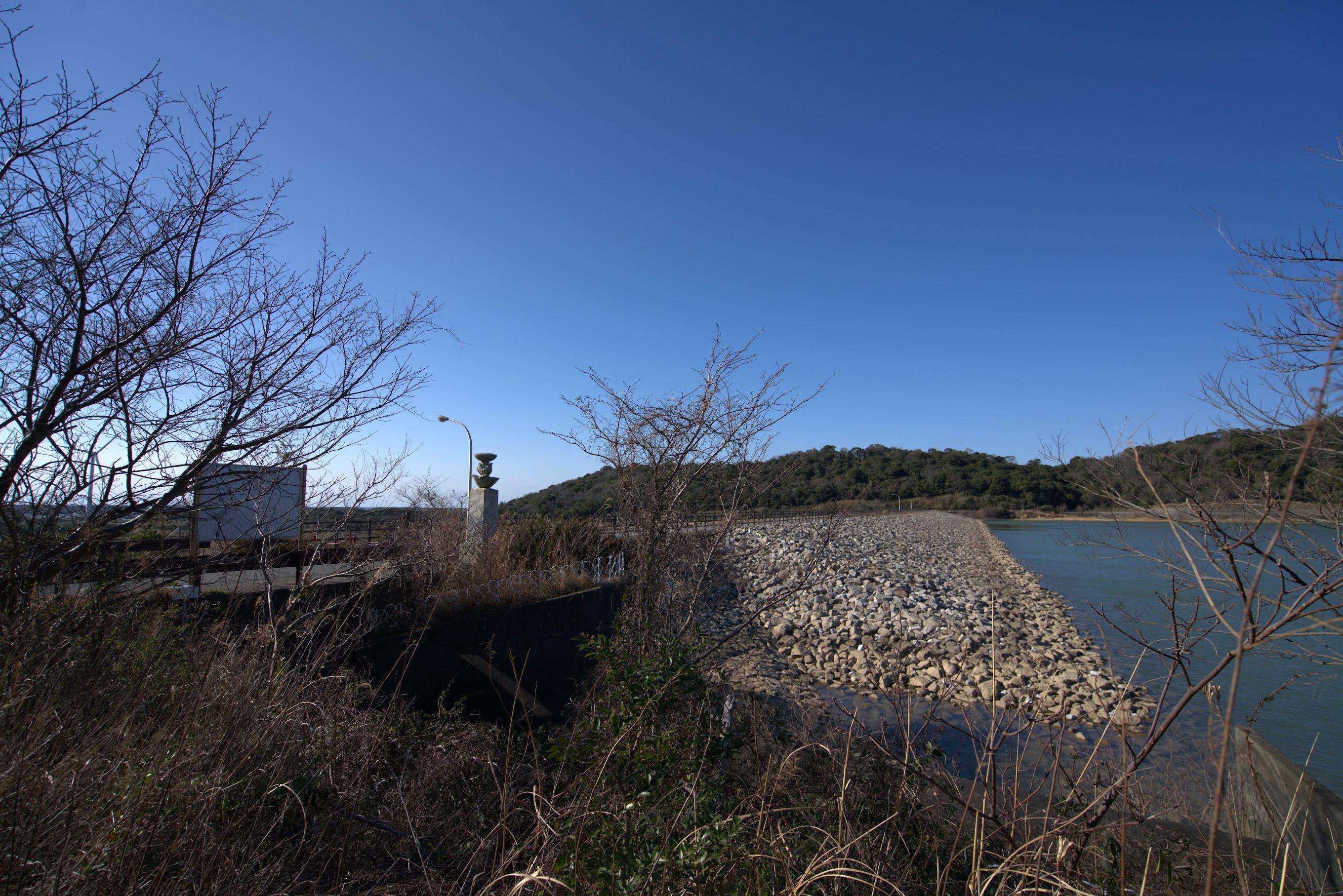 愛知県の追加ダムカードを貰いに行こう – 初立池(初立ダム)
