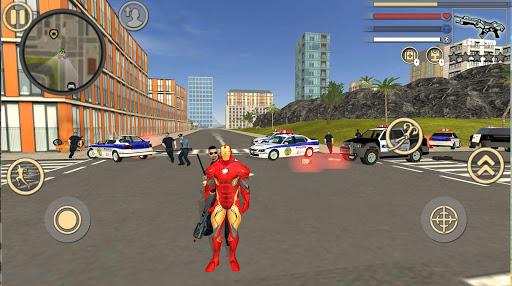 Code Triche Iron Rope Hero: Vice Town APK MOD screenshots 1