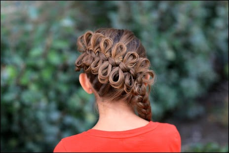 Cute And Easy Girl Hairstyles - náhled