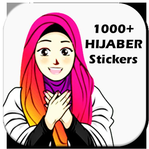 1000 Cute Hijab Islamic Sticker For Whatsapp Apps On Google Play