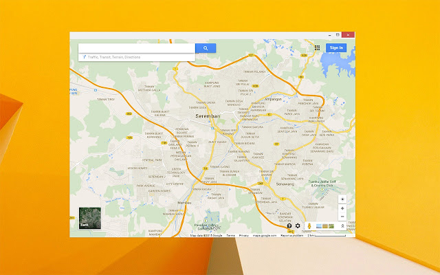 App Launcher for Google Maps on
