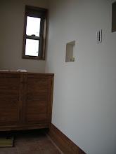 Photo: 玄関の造作靴棚とニッチ(2)