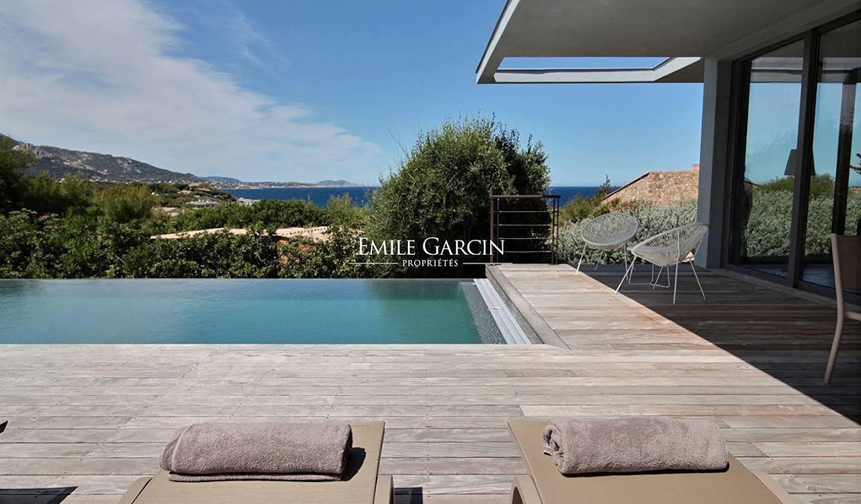 Villa en bord de mer avec jardin L'Ile-Rousse