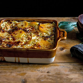 Cabbage and Potato Gratin
