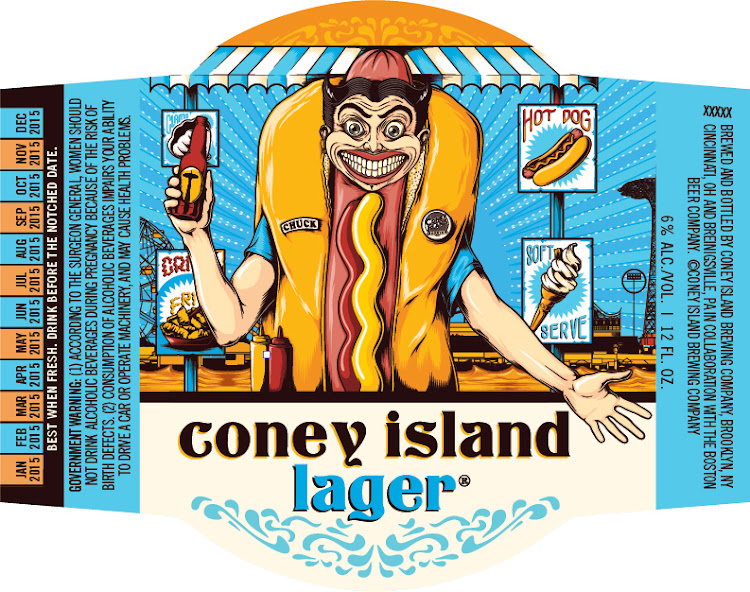 Logo of Coney Island Lager