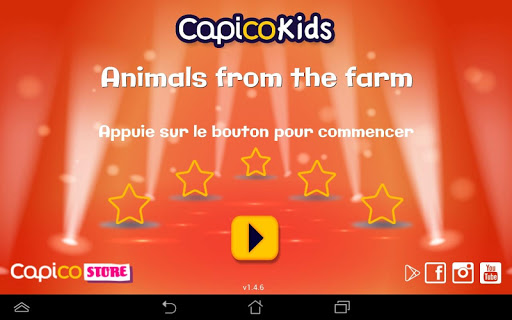 Learn animals from the farm