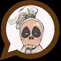 Stiker Hantu Lucu Kocak - WAStickerApps icon