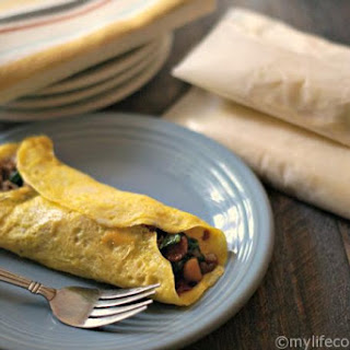Freezable Low Carb Breakfast Burritos (Grain Free, Nut Free) Recipe