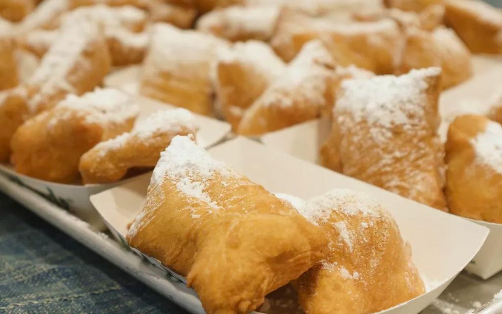 Cafe du Monde's famous beignets