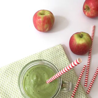 Super Creamy Apple & Ginger Green Smoothie