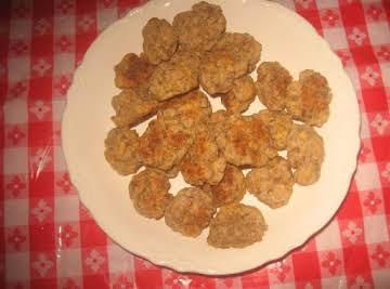 Spicy sausage balls