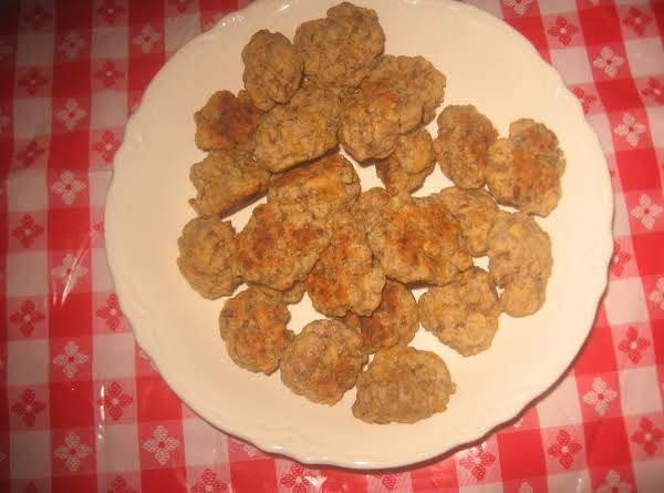 Spicy Sausage Balls Recipe
