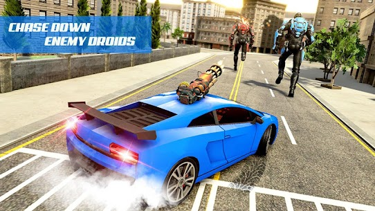 Zebra Robot Car Game: Car Transform Robot Games 2