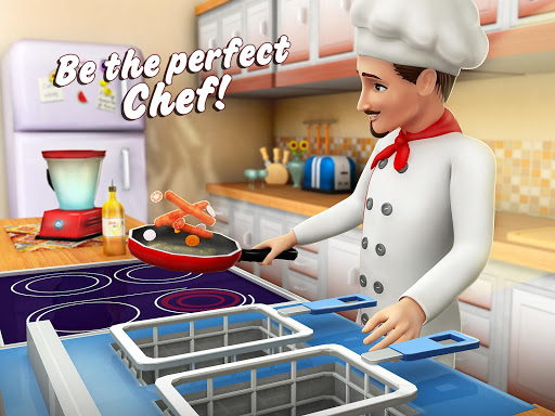 Virtual Chef Breakfast Maker 3D: Food Cooking Game 1.1 screenshots 10