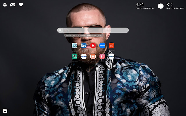 Conor McGregor HD Wallpapers New Tab