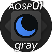 Substratum Theme Dark aospUI Gray +Pie,Samsung