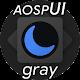 Substratum Theme Dark aospUI Gray +Pie,Samsung,One Android apk