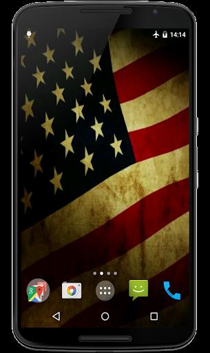 Flag of USA Video Wallpaper