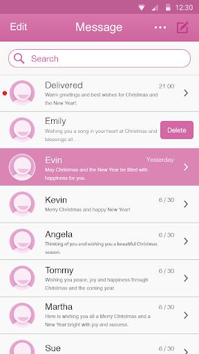 Fuchsia Theme-Messaging 7