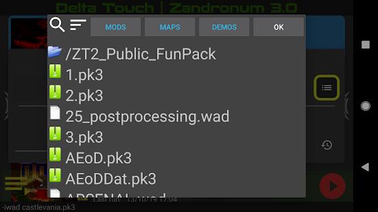 Delta Touch [6 x Doom engine source port]
