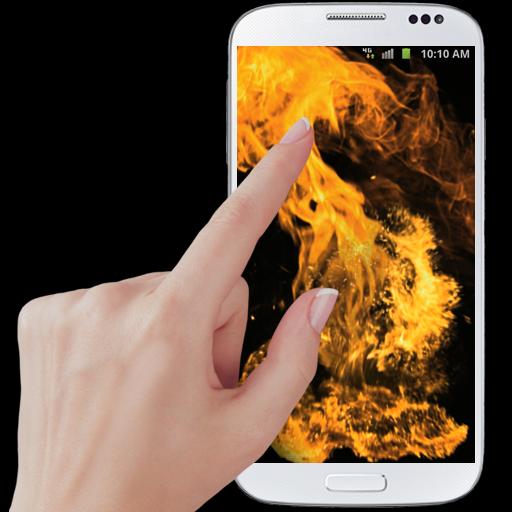 Fire screen simulator Icon