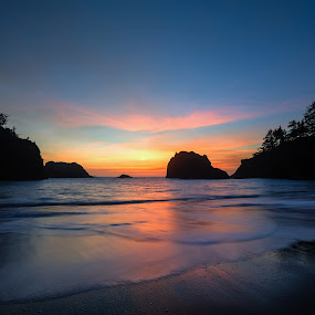 Southern Oregon by Zach Blackwood - Landscapes Sunsets & Sunrises ( sunset, sunrise, southern oregon, coast )