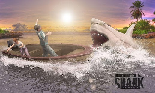 Real Blue Whale Simulator & Shark Hunting Games 3D - náhled