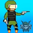 Pixel's Militya Shooter Game icon