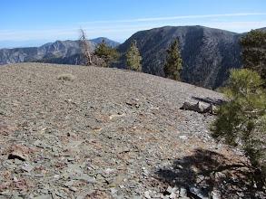 Photo: View southeast toward Mt. Harwood from Dawson Peak's south ridge