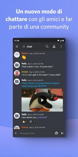 Discord - Amici, community e gaming screenshot