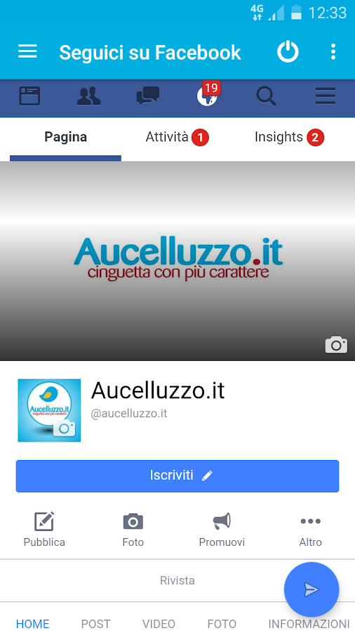 Aucelluzzo.it- screenshot