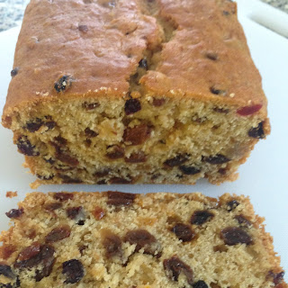 Freda's apple and fruit loaf (thanks Freda).