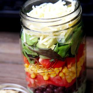 Vegetarian Taco Salad.