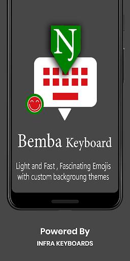 Bemba English Keyboard 2020 : Infra Keyboard screenshots 1