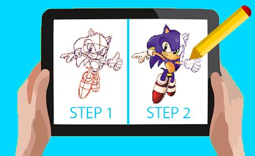 Descargar Cómo dibujar Sonic Andorid-Cómo dibujar Sonic de Best Of ...