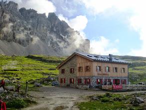 Photo: Il rifugio Lavaredo