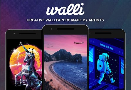 Walli – 4K, HD Wallpapers MOD APK (Premium) 2