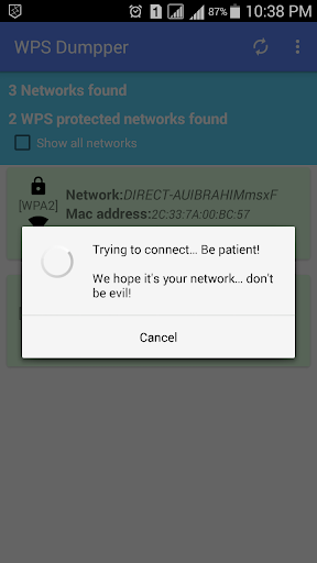 WPS WPA Connect Dumpper for PC