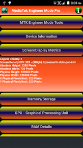 MediaTek Engineer Mode Pro screenshot 1